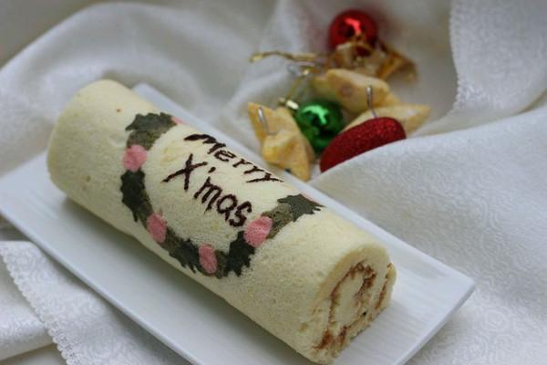 圣诞快乐蛋糕卷
