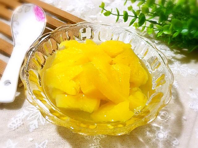 菠萝罐头的做法步骤