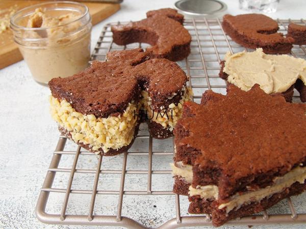 宜家让家更有味#动物巧克力夹心蛋糕