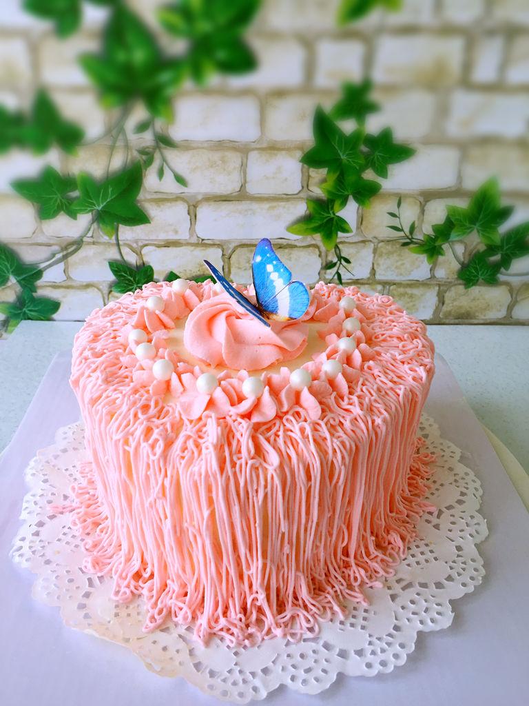 心形蛋糕的做法图解5