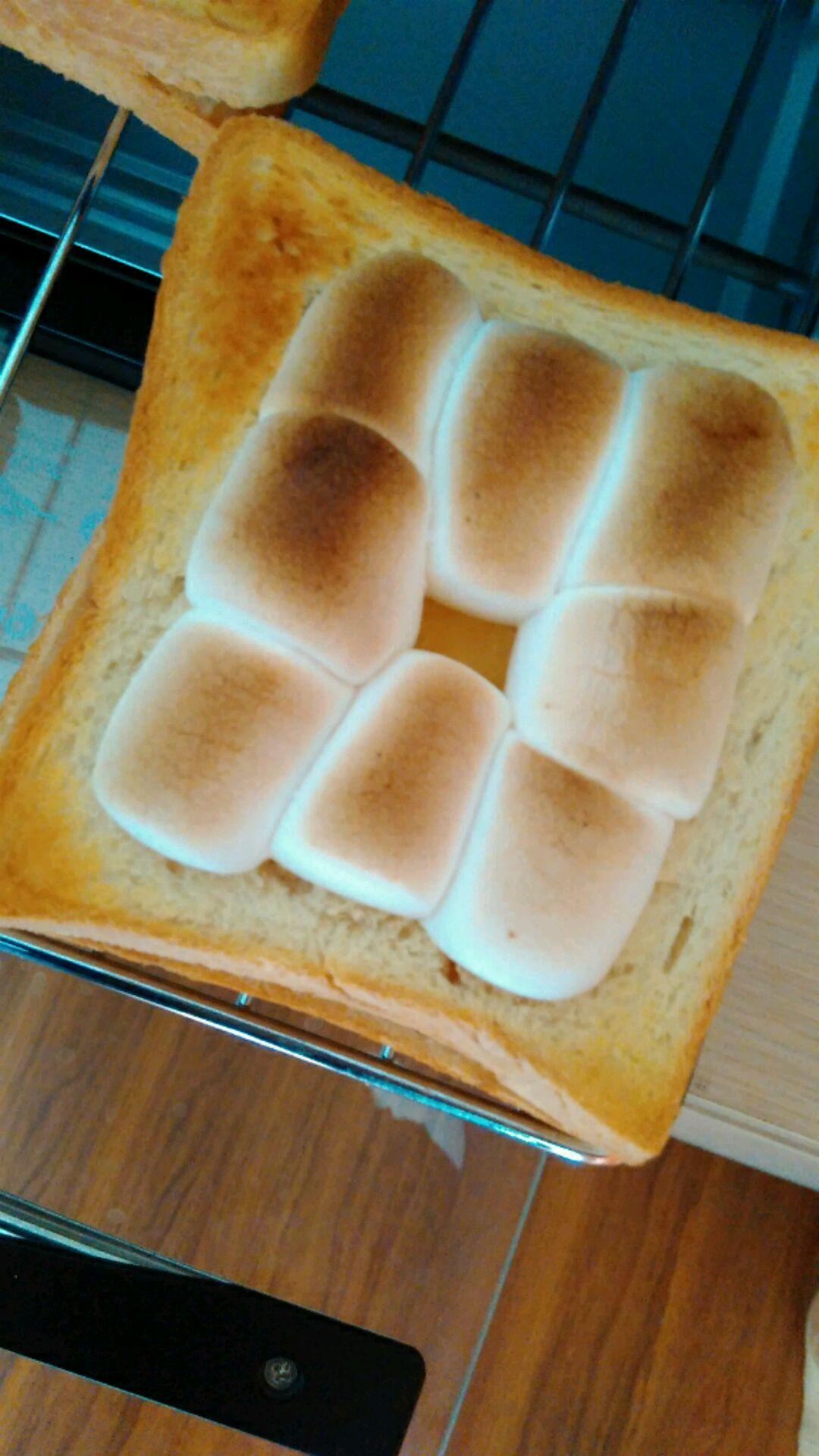 烤棉花糖面包的做法图解6