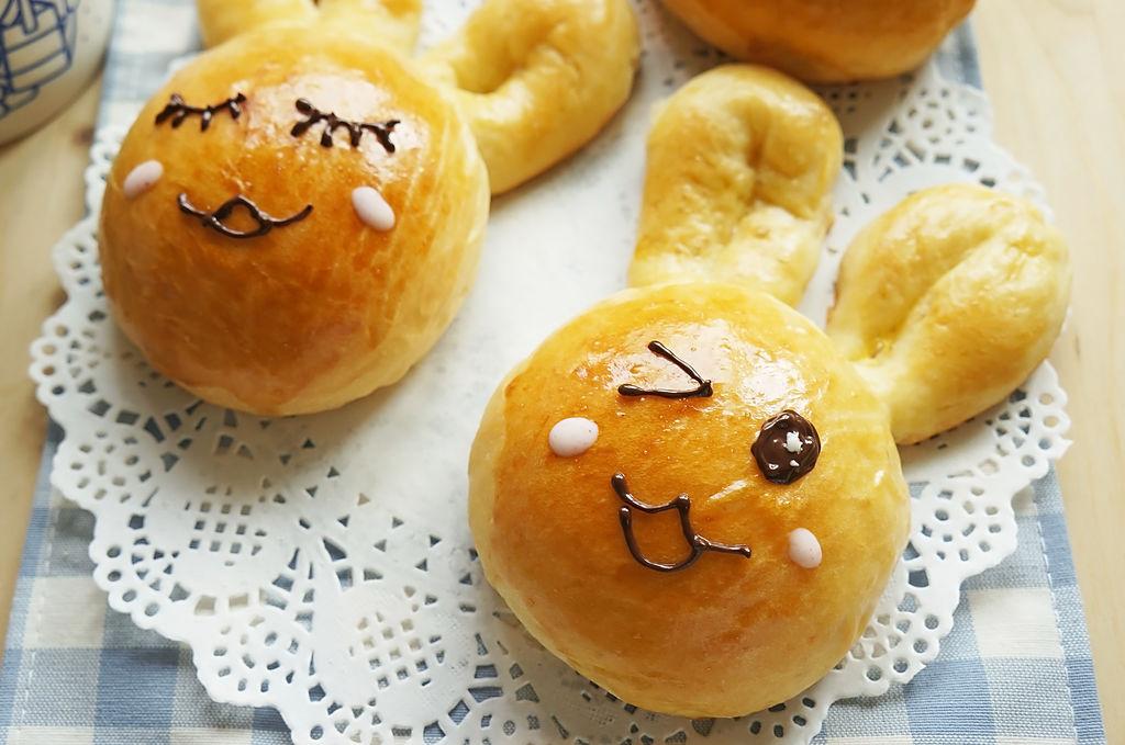 兔子萌面包的做法步骤