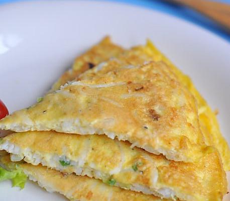 银鱼蛋饼的做法_【图解】银鱼蛋饼怎么做如何做好吃