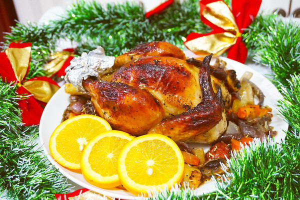 「迟の味」圣诞特辑 | 圣诞烤鸡