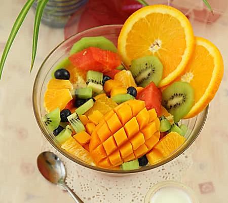 各中美味水果吃起来 一次满足我的各种想吃