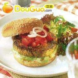 蔬菜汉堡的做法