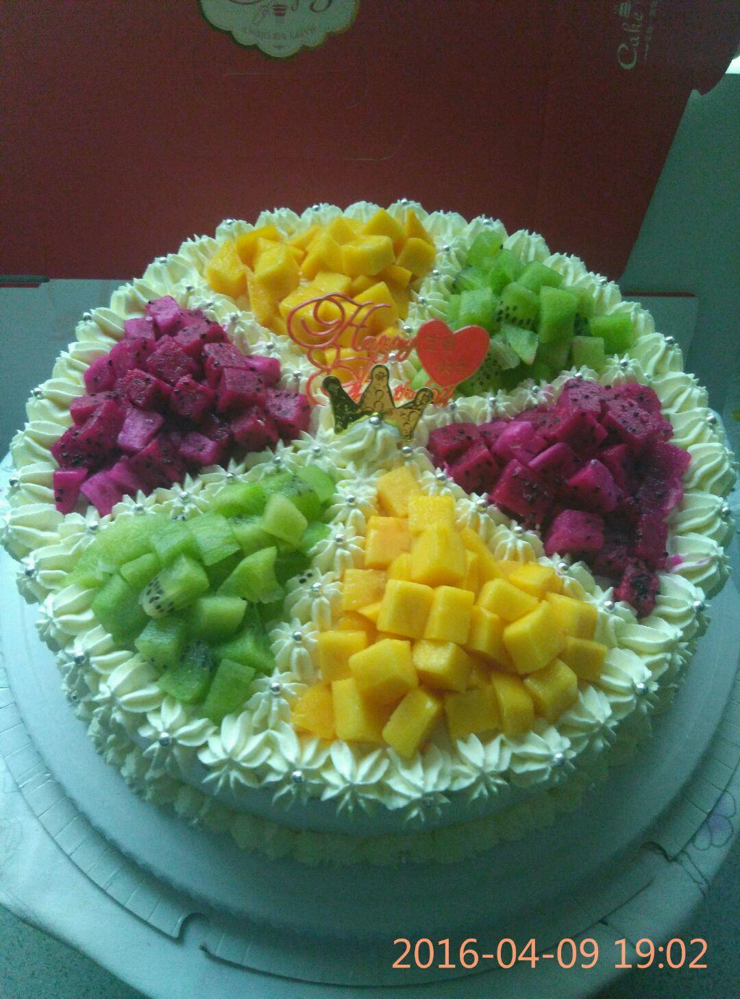 生日蛋糕的做法图解1
