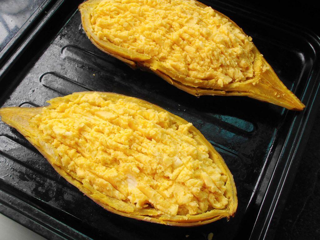 芝士烤红薯的做法图解6