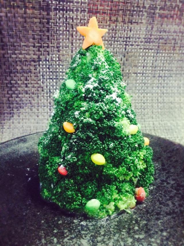 圣诞树沙拉的做法图解10