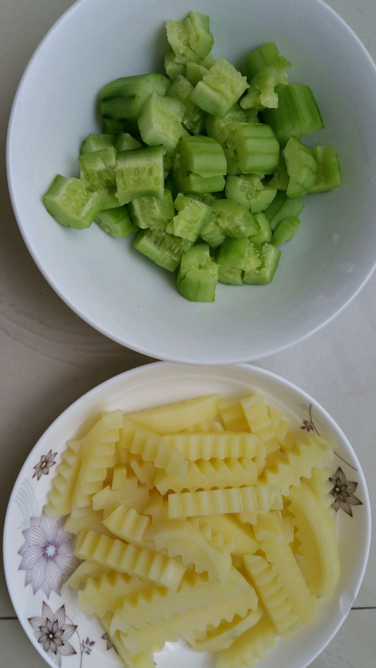 清爽傣味凉菜的做法步骤