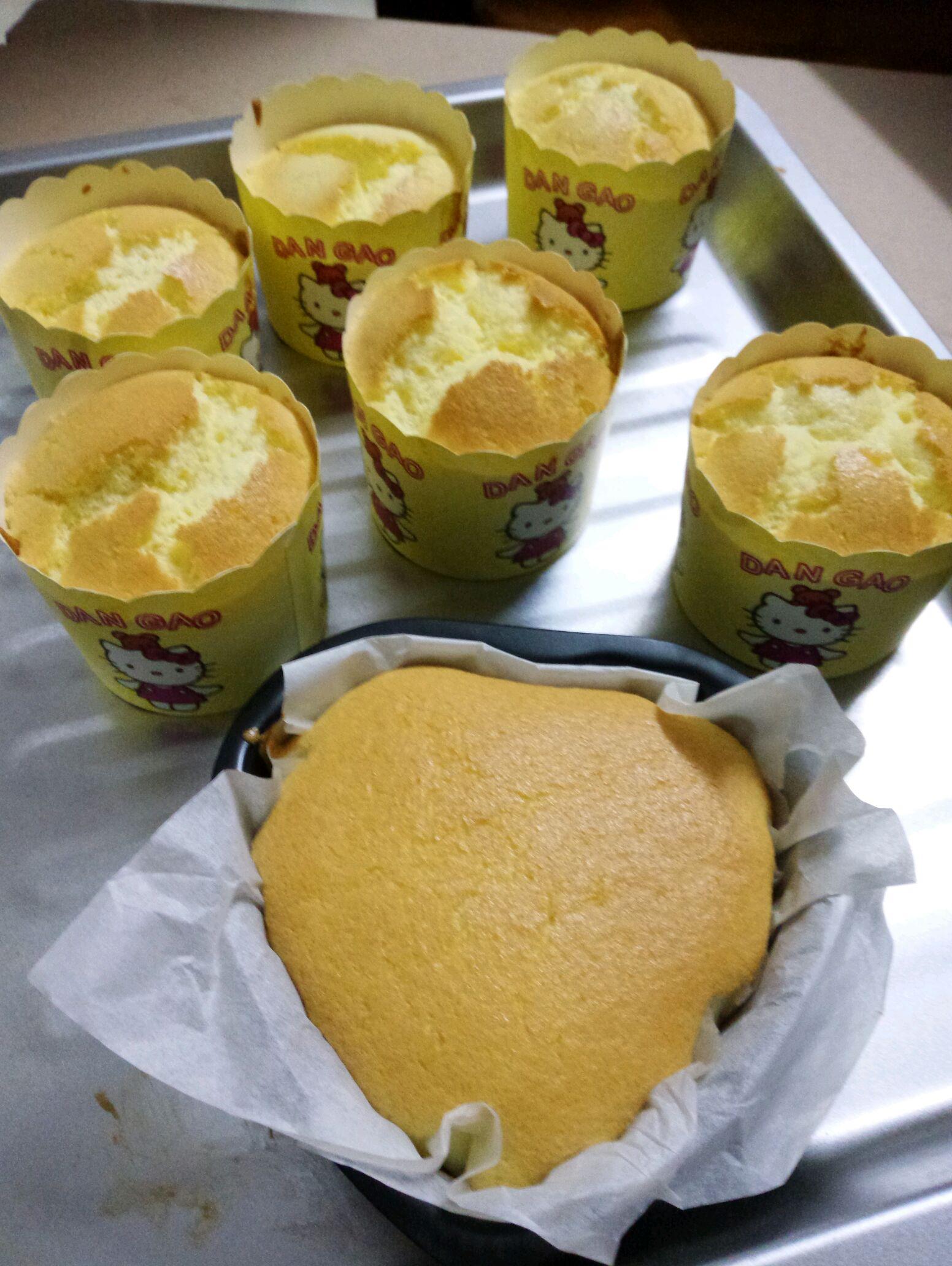 海绵小蛋糕的做法_【图解】海绵小蛋糕怎么做如何做