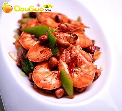 香辣宫保虾的做法