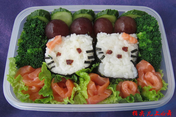 小孩寿司的做法图解