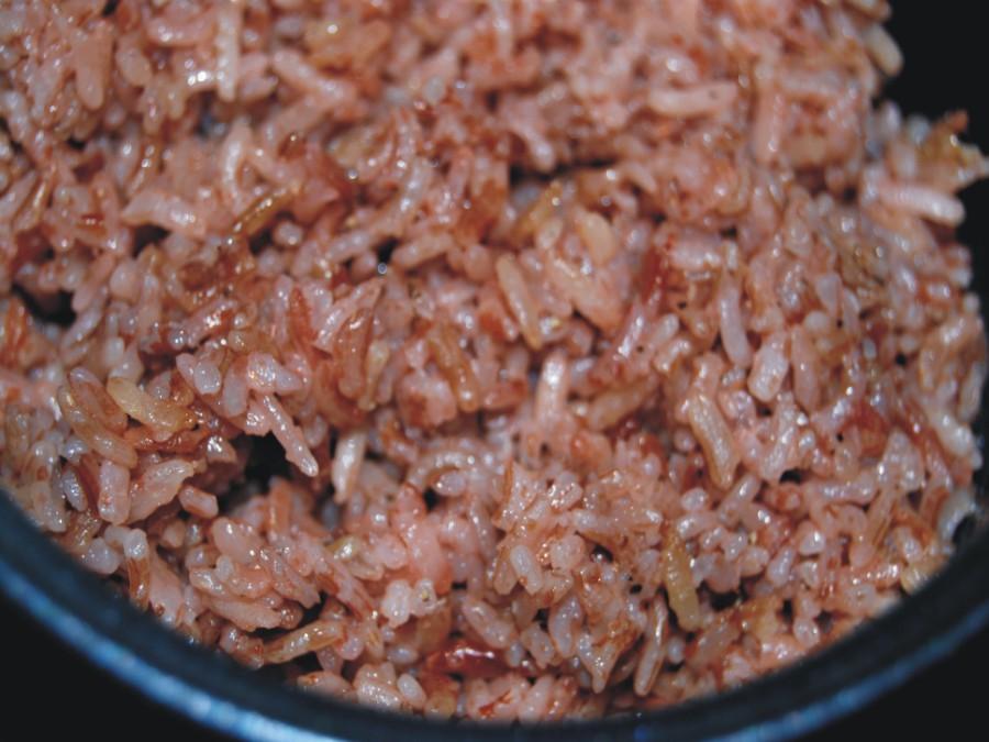 红米小兔饭团的做法图解3