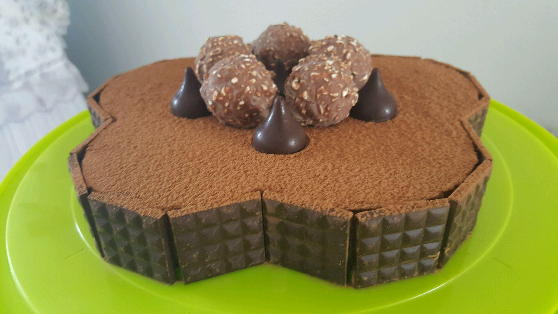 巧克力慕斯蛋糕的做法图解9