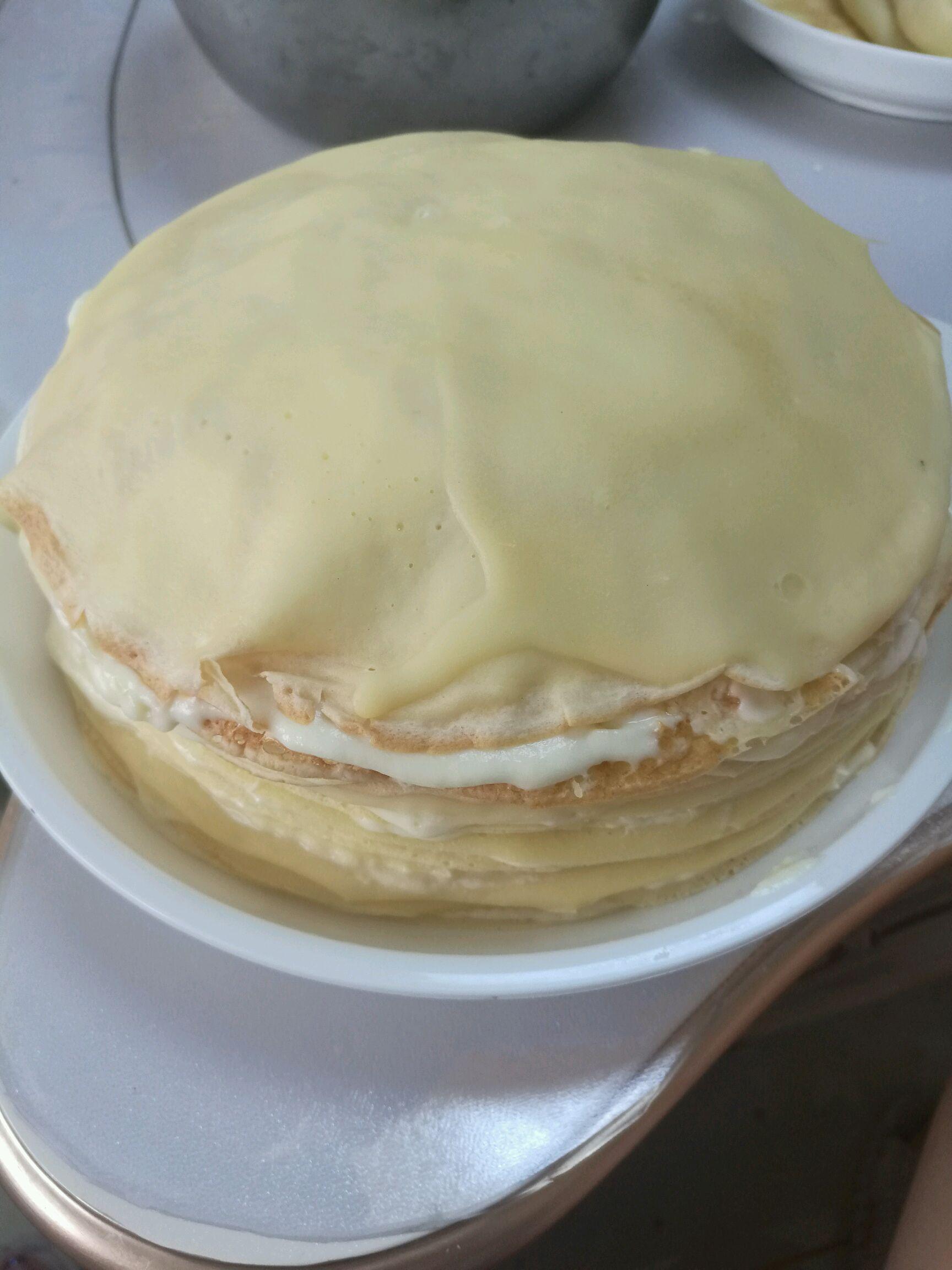 千层榴莲蛋糕的做法图解10