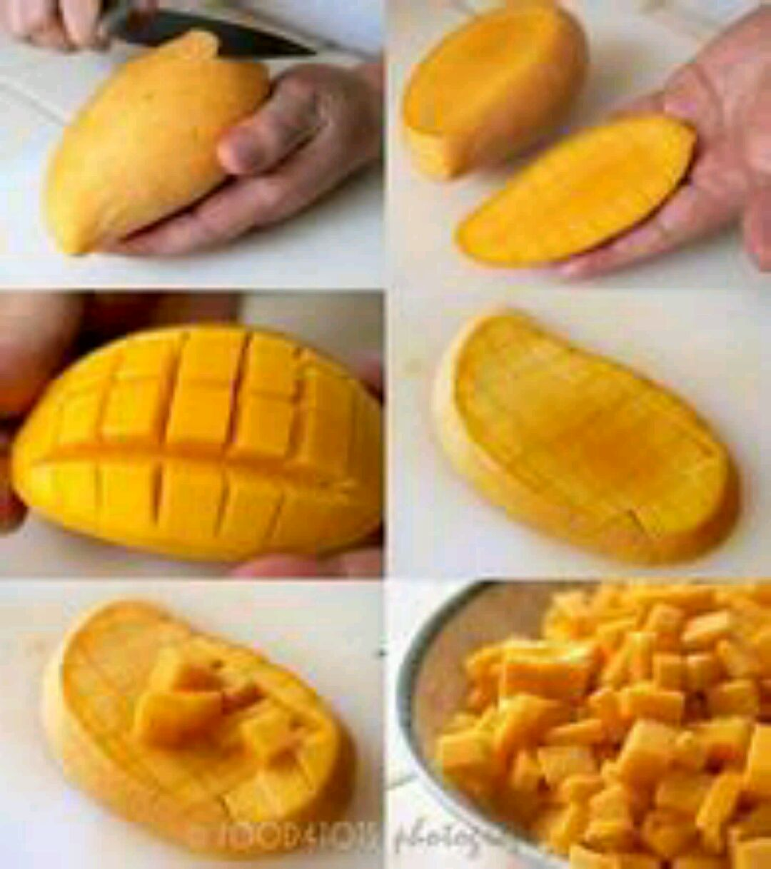 芒果〖mango〗切法的做法步骤 4. ok