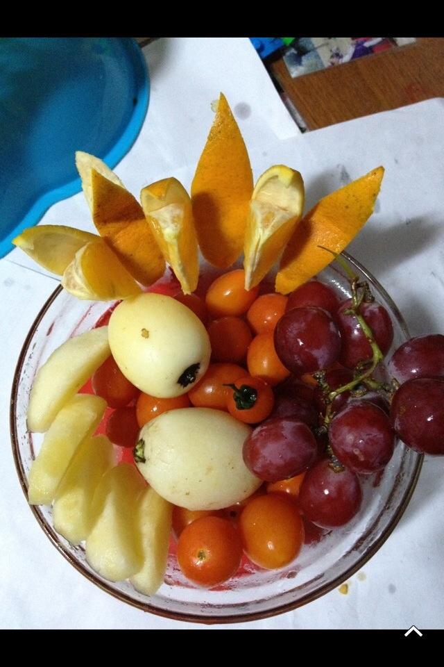 水果拼盘集锦的做法图解10