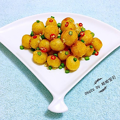 香酥黄金球#宴客拿手菜#