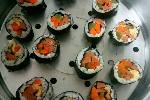 寿司的做法 步骤 视频