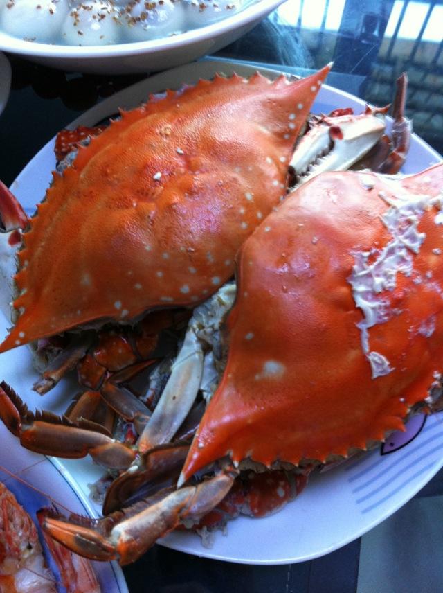 蒸螃蟹的做法图解2