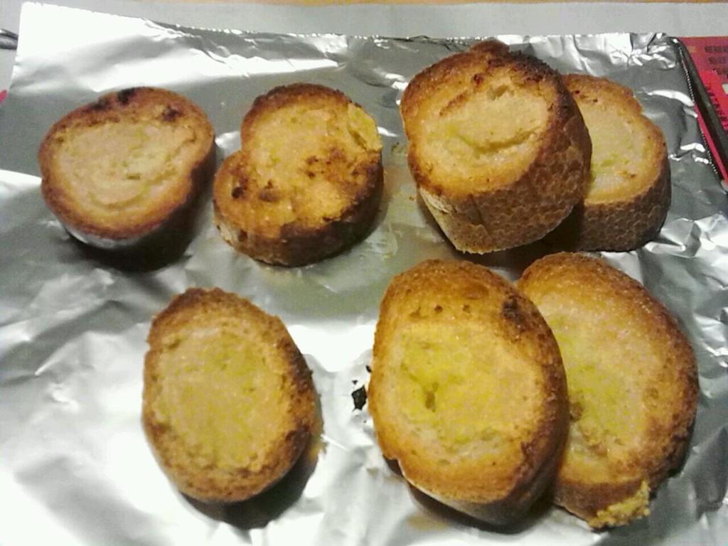 蒜蓉黄油烤面包的做法步骤