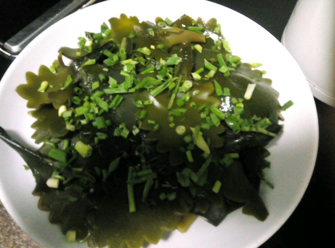 超级下饭系列之葱油海带片的做法图解2