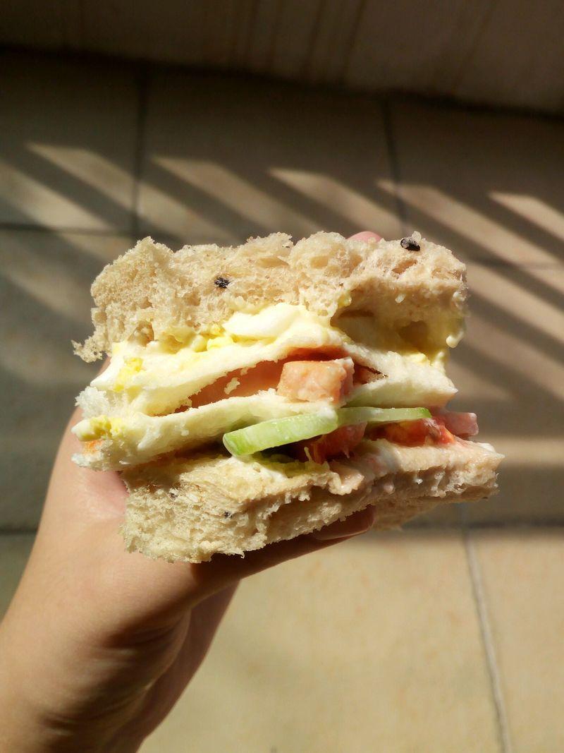 快手三明治的做法_【图解】快手三明治怎么做如何做
