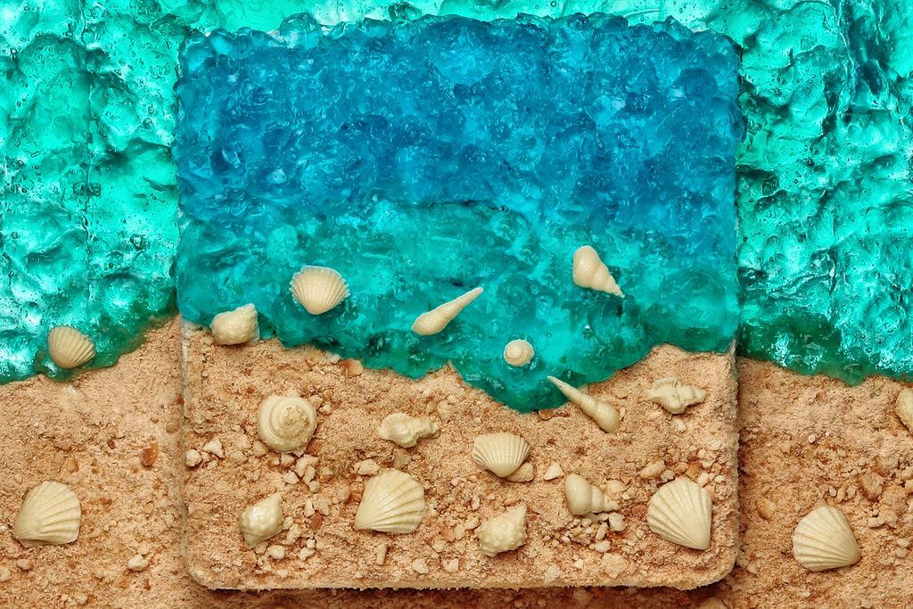 海洋圆圈边框素材