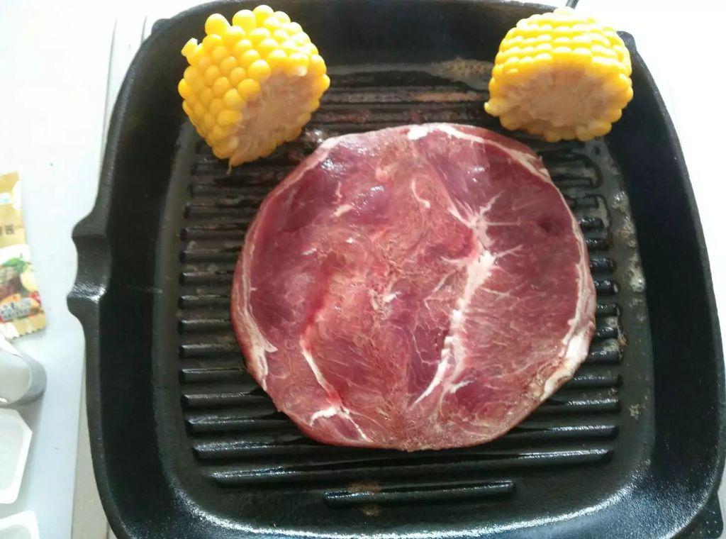 煎牛排#一起吃西餐#的做法步骤