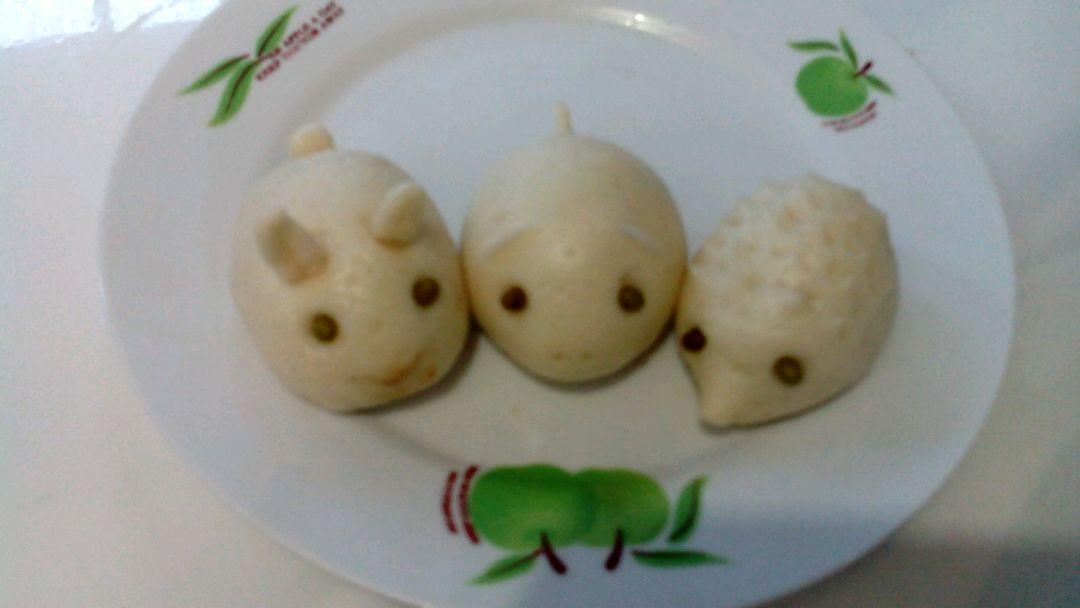 小动物枣泥包的做法_【图解】小动物枣泥包怎么做如何