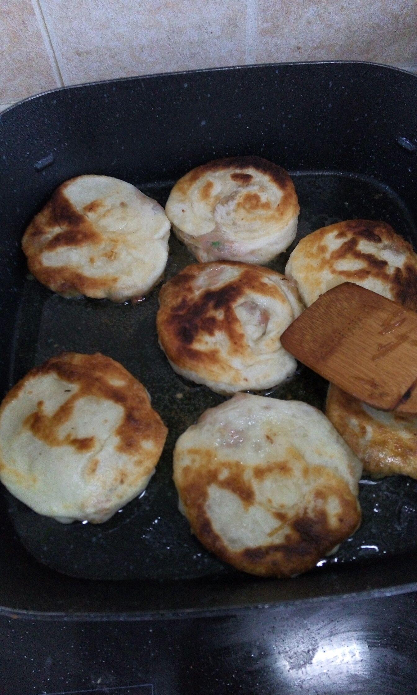 羊肉馅饼的做法图解4