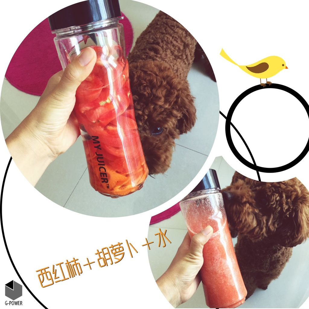 原汁機減肥榨汁--果汁、奶昔瘋狂亂榨的做法_【圖解 ...