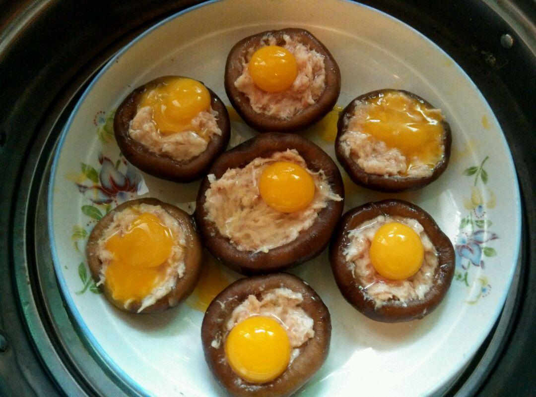 蒸又名肥肠蛋(味道:冬日暖阳)怎么煮香菇没鹌鹑图片