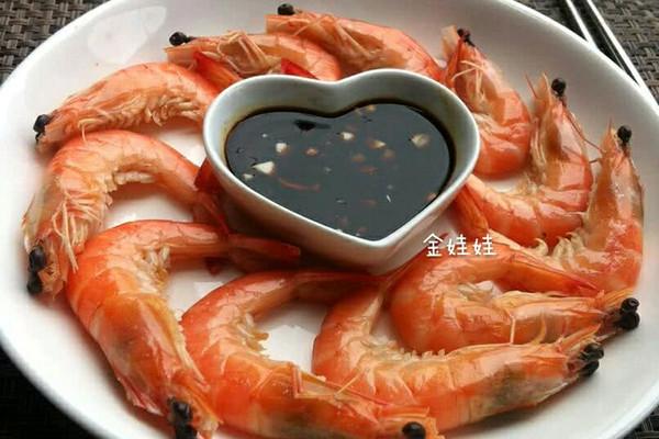 白灼虾的做法_【图解】白灼虾怎么做如何做好吃_白灼
