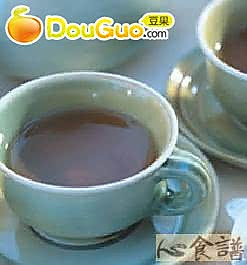 玫瑰美人茶的做法