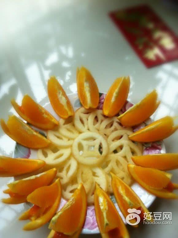 (收起) 主料 橙子3个 水果拼盘的做法步骤 小贴士 中国橙子产地赣南的