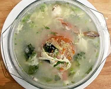 蟹香疙瘩汤的做法