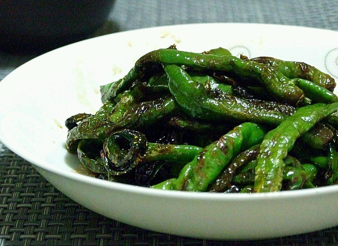 虎皮青椒的做法_【图解】虎皮青椒怎么做如何做好吃