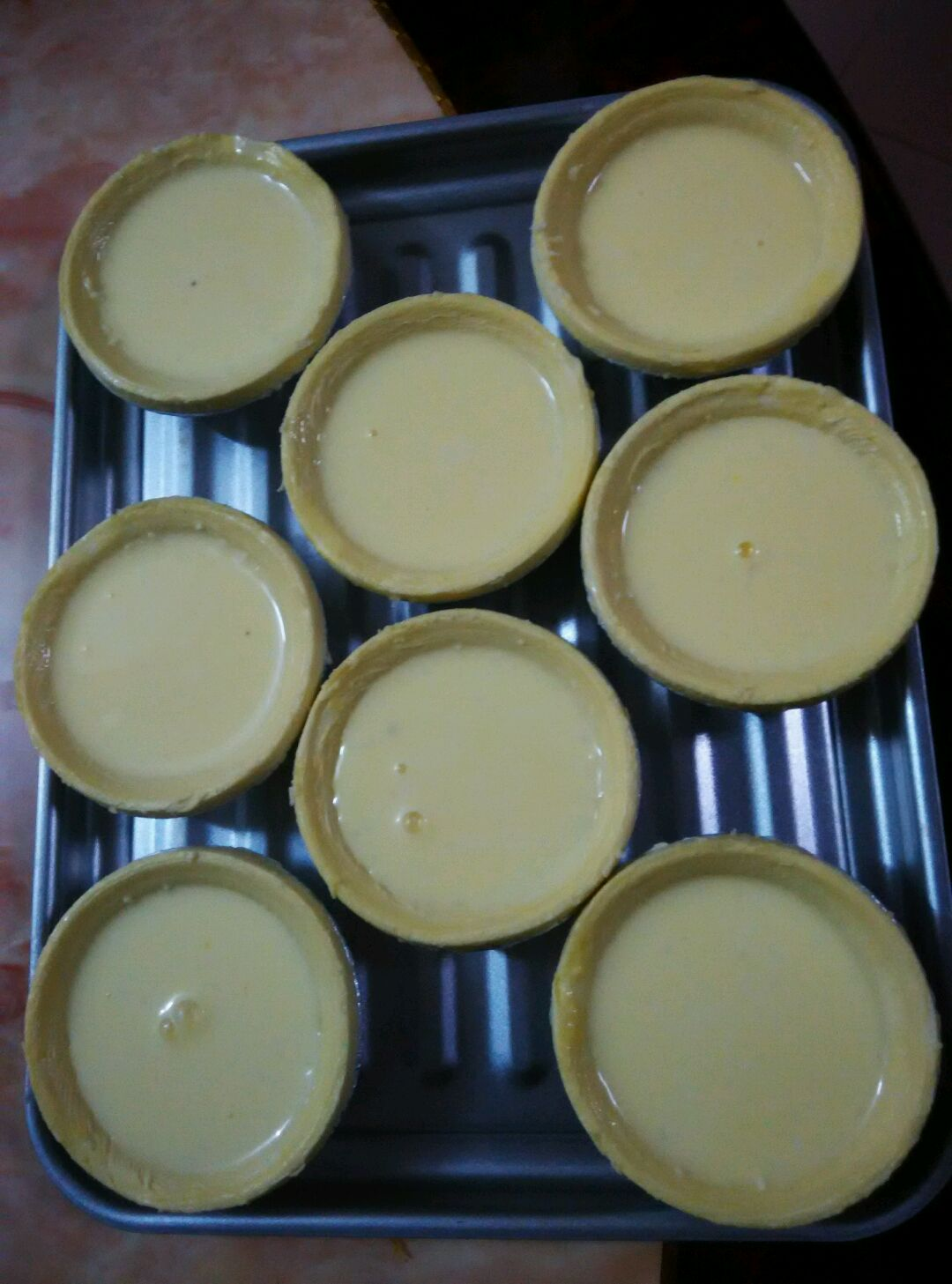 椰蓉蛋挞的做法步骤