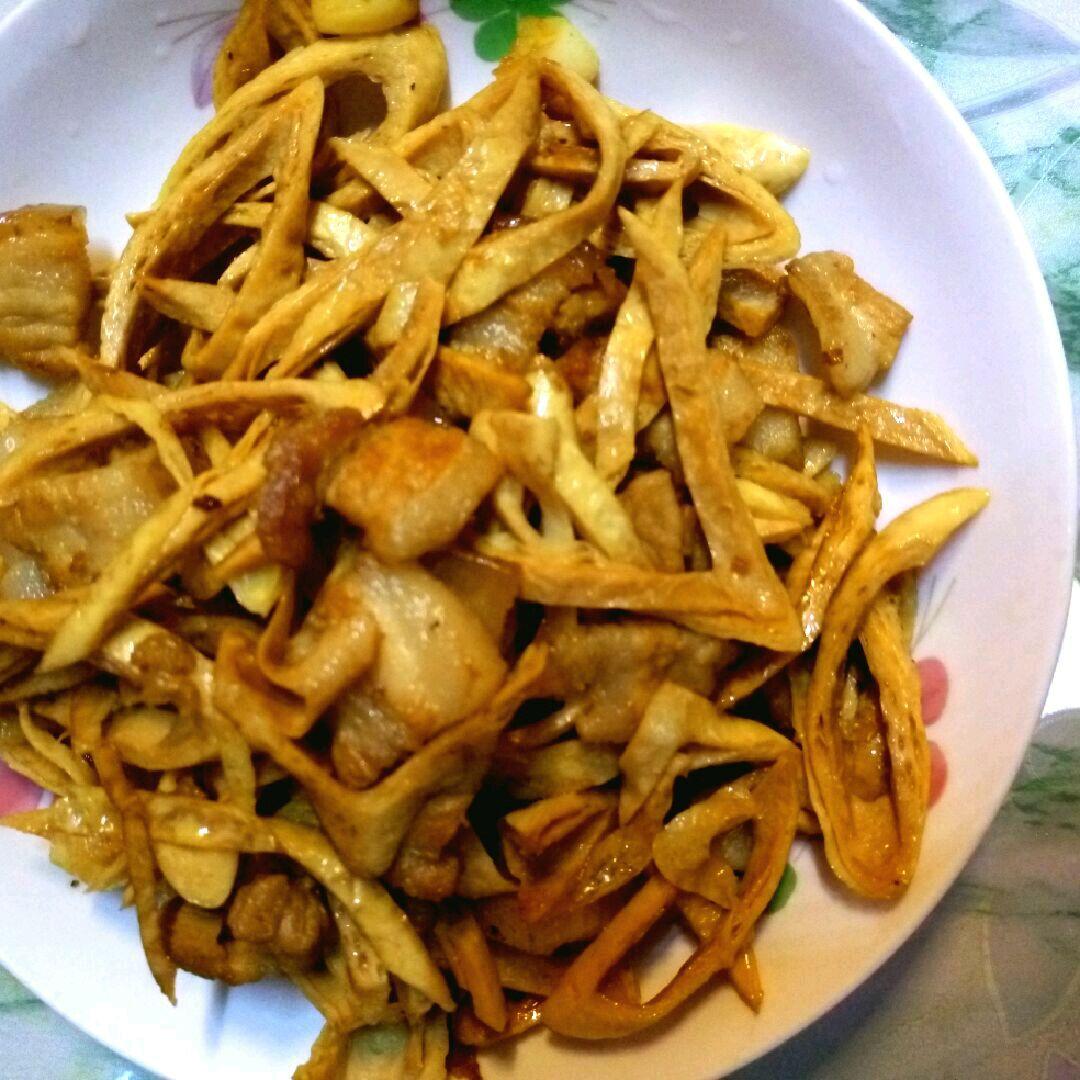 豆笋炒肉的做法_【图解】豆笋炒肉怎么做如何做好吃