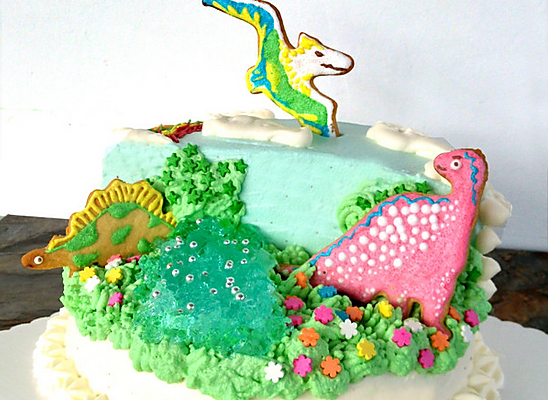 侏罗纪恐龙生日蛋糕#豆果5周年#的做法