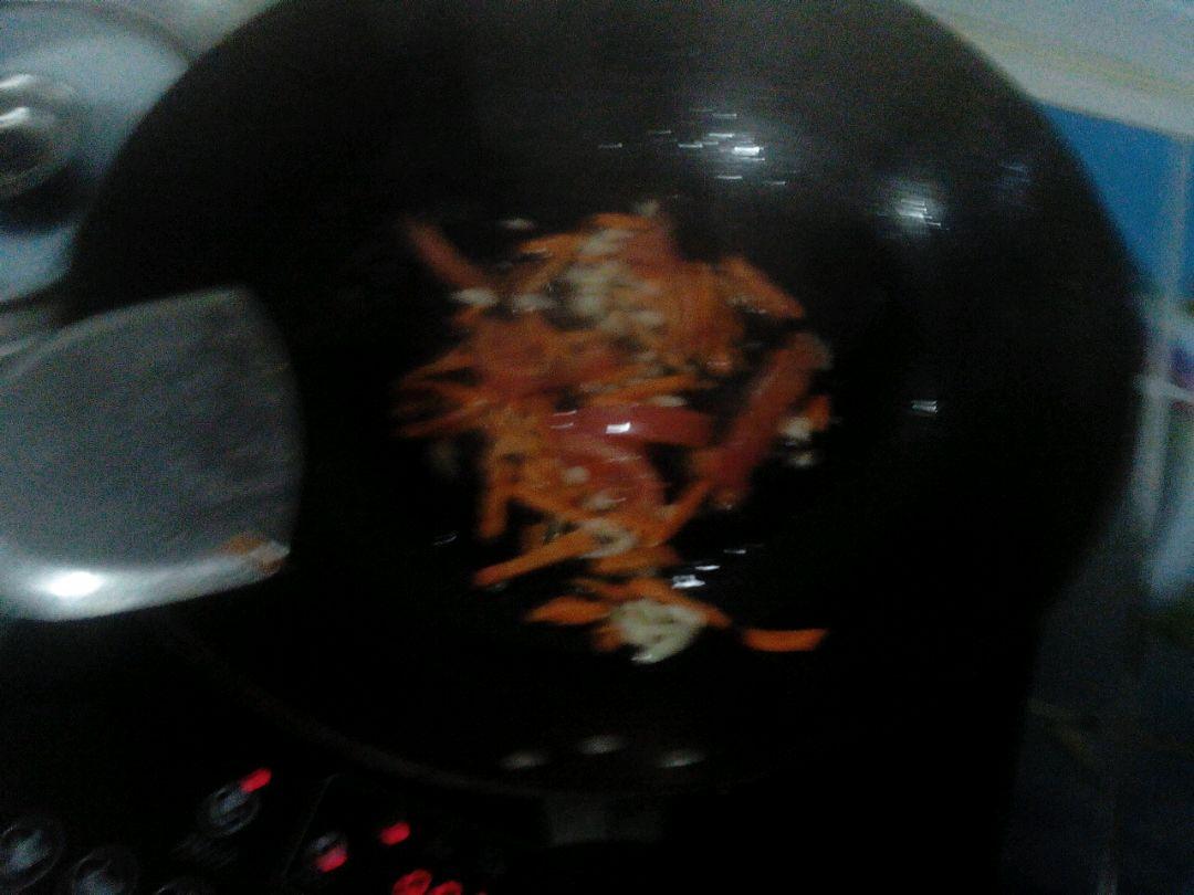 素炒菜花的做法图解5