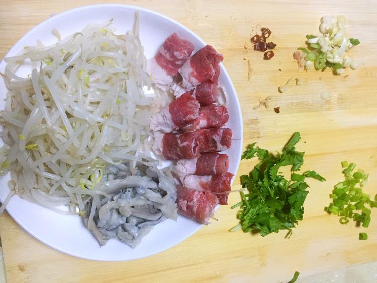 东北版肥牛酸辣锡纸配兔肉整只风干粉条的大全做法图片