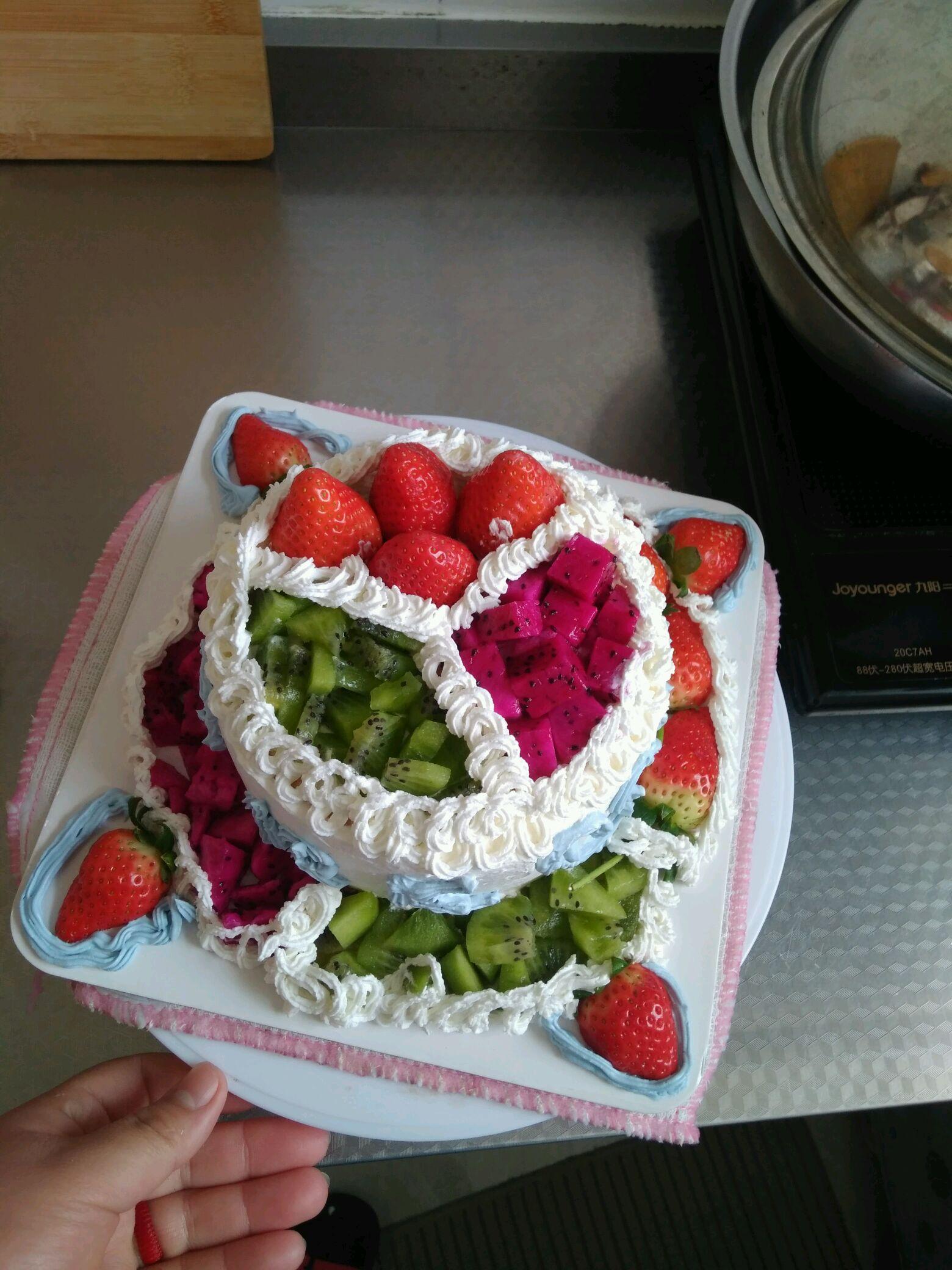 戚风蛋糕的做法图解10