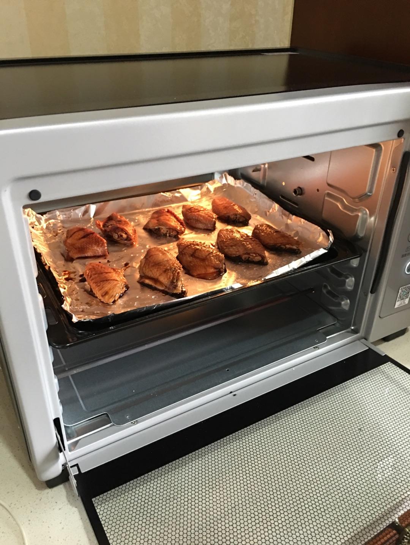 烤箱烤鸡翅的做法步骤