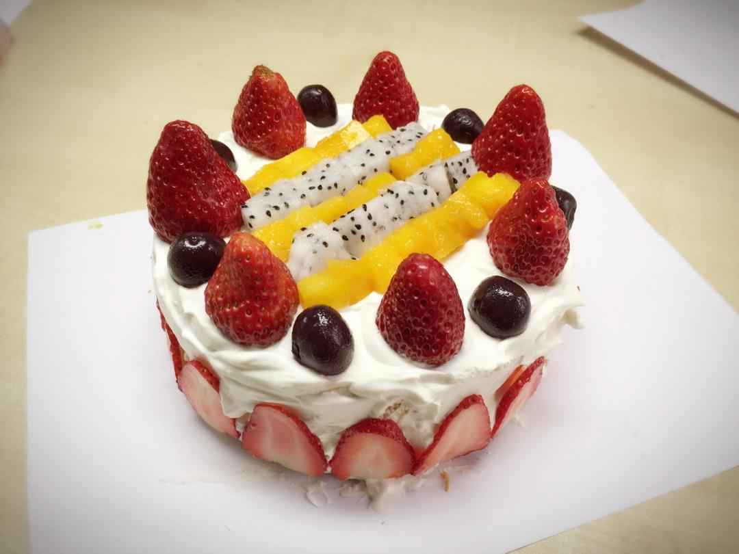奥利奥草莓蛋糕的做法图解15