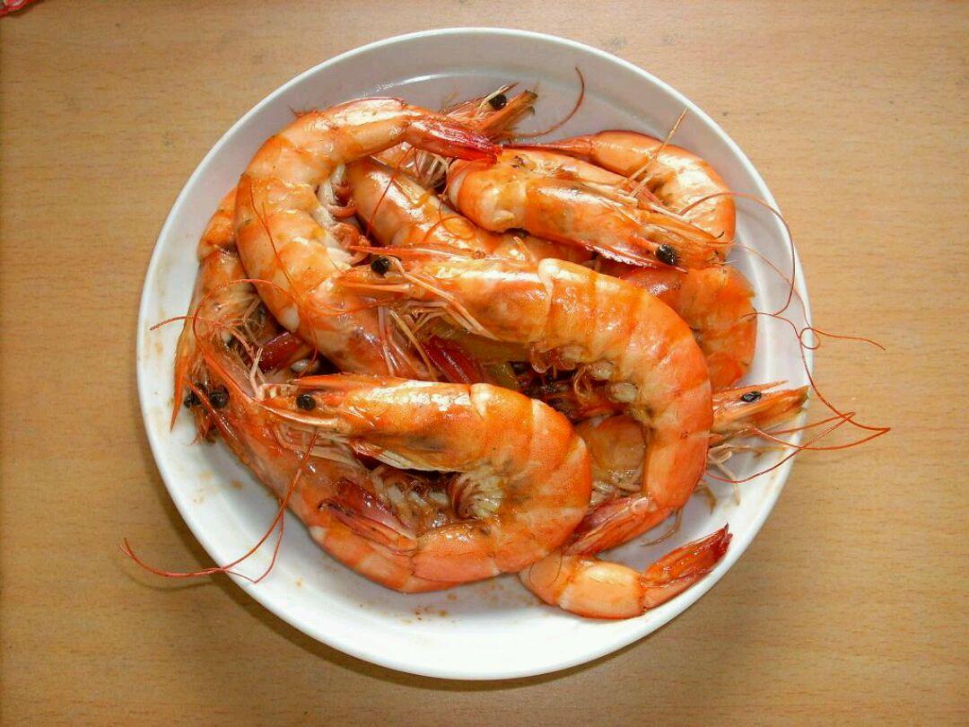 水煮虾的做法图解1