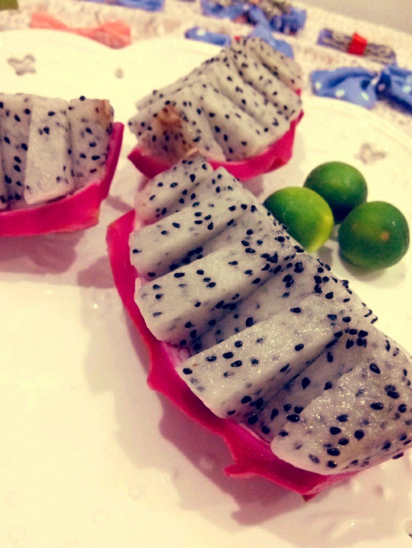 火龙果的新吃法的做法图解2图片