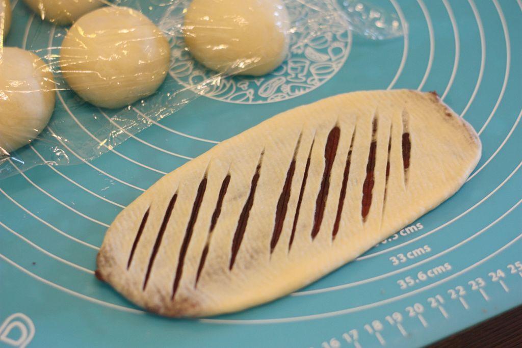 豆沙环形面包的做法图解7